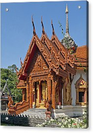 Wat Ban Tha Bo Ubosot Dthu200 Acrylic Print by Gerry Gantt