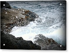 Water Splash Acrylic Print by Kevin Flynn