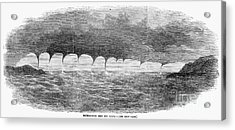 Waterspouts, 1856 Acrylic Print by Granger