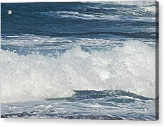Waves Breaking 7964 Acrylic Print by Michael Peychich