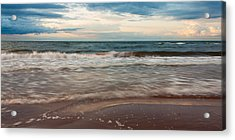 Waves Acrylic Print by Matt Dobson