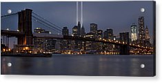 We Will Never Forget Acrylic Print by Susan Candelario