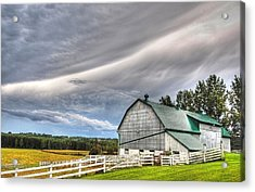 Weather It Out Acrylic Print by Bruce Kenny
