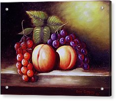 Wee Snack 2 Acrylic Print by Gene Gregory