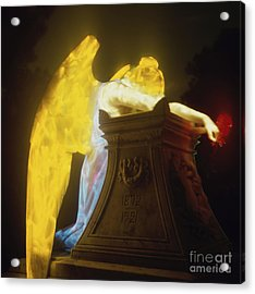 Weeping Angel Acrylic Print by Keith Kapple
