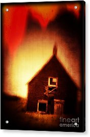Welcome To Hell House Acrylic Print by Edward Fielding