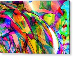 Welcome To My World Dissection 1 Acrylic Print by Angelina Vick