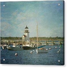 Welcome To Nantucket Acrylic Print by Kim Hojnacki