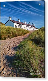 Welsh Cottages Acrylic Print by Adrian Evans