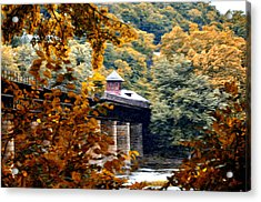 West Virginia Morn Acrylic Print by Bill Cannon