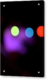 What Do You See 1 Acrylic Print by Melissa  Hardiman
