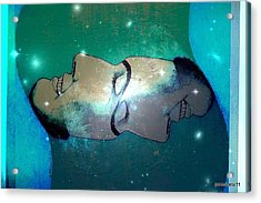 What Is Above Is Like What Is Underneath Acrylic Print by Paulo Zerbato