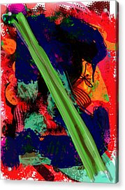 What Is Celery Acrylic Print by James Thomas