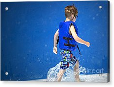 What Life Is All About Acrylic Print by Gwyn Newcombe