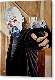 Whatever Doesn't Kill You Simply Makes You Stranger Acrylic Print by Al  Molina
