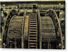 Wheel Of Industry Acrylic Print by John Monteath