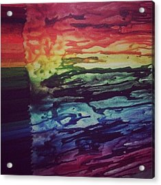 When I'm Bored On A Sunday Night....i Acrylic Print by Stephanie Brown