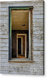When Times Were Good Acrylic Print by Sandra Bronstein