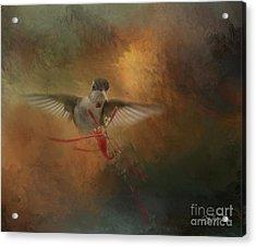 Whisper Acrylic Print by Cris Hayes