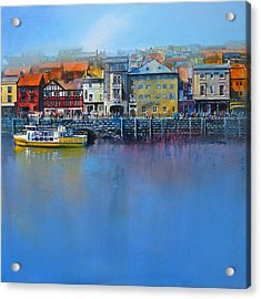 Whitby St Anne's Staith Acrylic Print by Neil McBride