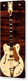 White Falcon Acrylic Print by Lourry Legarde