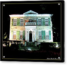 Whitehern Historic House And Garden Acrylic Print by Danielle  Parent