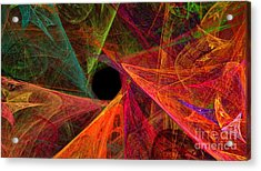 Wide Eye Color Delight Panorama Acrylic Print by Andee Design