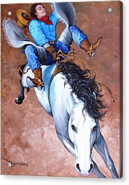 Wild Ride Acrylic Print by Tanja Ware