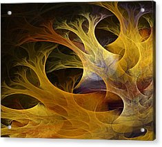 Wild Trees Acrylic Print by Lourry Legarde
