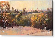 Willesmere From Charitas Acrylic Print by Pamela Pretty