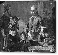 William Harvey, English Physician Acrylic Print by Photo Researchers