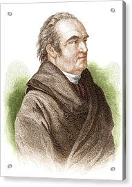 William Herschel, German-british Acrylic Print by Science Source