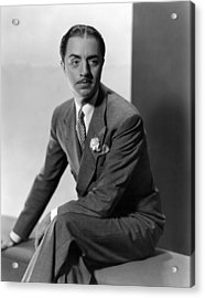 William Powell, Ca. 1930s Acrylic Print by Everett
