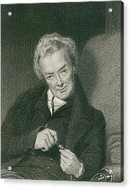 William Wilberforce 1859-1833, British Acrylic Print by Everett