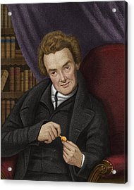 William Wilberforce, British Abolitionist Acrylic Print by Maria Platt-evans
