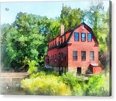 Williams-droescher  Mill Acrylic Print by Susan Savad