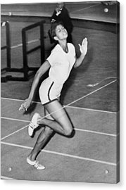 Wilma Rudolph Sets A World Record Acrylic Print by Everett