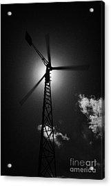 Wind Power Windmill Energy Acrylic Print by Joe Fox