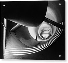 Wind Tunnel At Langley Aeronautical Acrylic Print by Everett