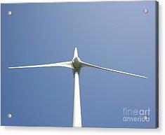 Wind Turbine Acrylic Print by Jaak Nilson