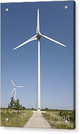 Wind Turbines Acrylic Print by Jaak Nilson