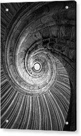 Winding Staircase Acrylic Print by Falko Follert