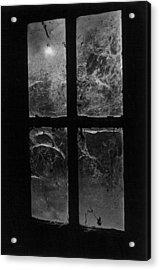Window At Castle Frankenstein Acrylic Print by Simon Marsden