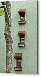 Window Haiku Acrylic Print by Art Ferrier