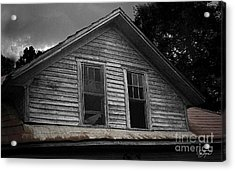 Windows In The Soul Acrylic Print by Cris Hayes