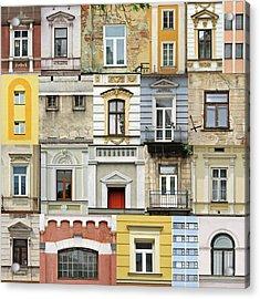 Windows Acrylic Print by Jaroslaw Grudzinski