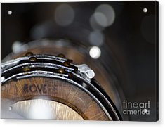 Wine Barrels In Oak Acrylic Print by Mats Silvan