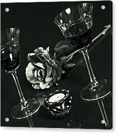 Wine For Two Acrylic Print by Joana Kruse