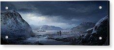 Winter Acrylic Print by Philip Straub
