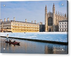 Winter Snow At Kings Acrylic Print by Andrew  Michael